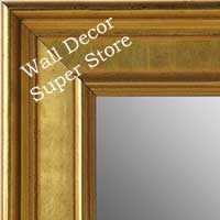 MR5230-1 Classic Gold - Extra Large Custom Wall Mirror Custom Floor Mirror