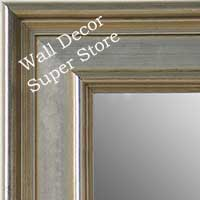 MR5230-2 Classic Silver - Extra Large Custom Wall Mirror Custom Floor Mirror