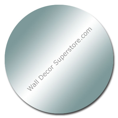 Purchase a custom flat polished round mirror made to your size
