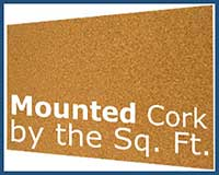 MT102 Mounted Cork Cut To Your Size