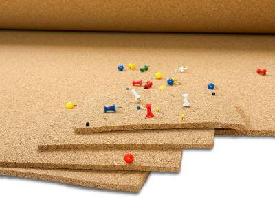 Mt101 Cork Roll Bulletin Board Material