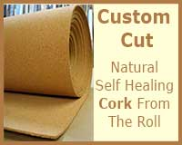 MT101 Cork Roll Bulletin Board Material Cut To Size From Roll 4 Feet Wide By 100 Feet Long