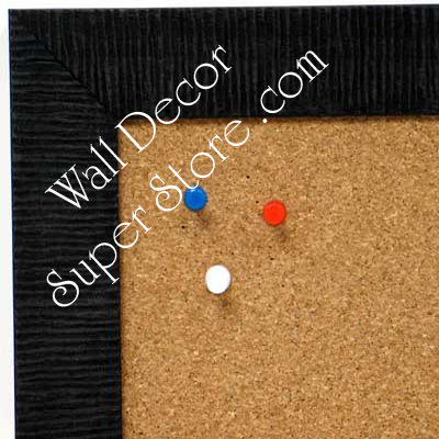BB1485-5 Black Custom Cork Chalk or Dry Erase Board Medium To Large