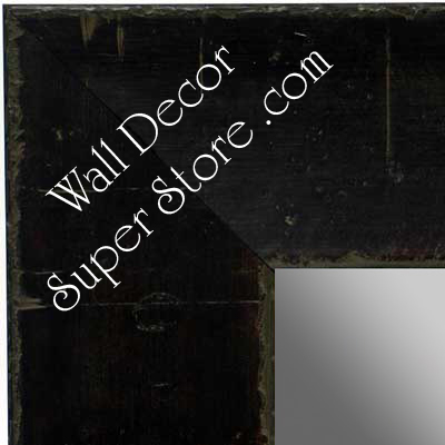MR1483-2 Discontinued Espresso Poplar Burl Moulding - Extra Large Custom Wall Mirror  Custom Floor Mirror