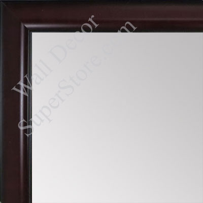 MR1523-4 Mahogany - Small Custom Wall Mirror Custom Floor Mirror