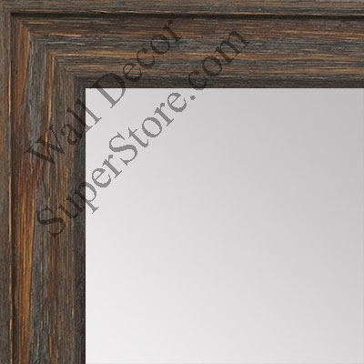 MR1512-2 Gray Distressed Barnwood - Medium Custom Wall Mirror, Floor ...