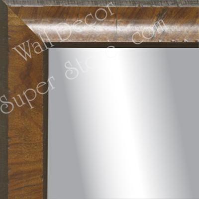 Mr1783 1 Distressed Burl Wood Light Olive Reverse Scoop Um Custom Wall Mirror Floor