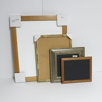 WSAS-325 *SPECIAL* (4)  Assorted Wall Boards Magnetic Chalk and Dry Erase Cork and Combination