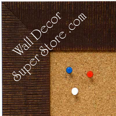 BB1484-1 Brown Medium To Extra Large Custom Cork Chalk Or Dry Erase Board