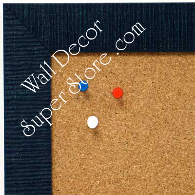 BB1485-6 Blue Custom Cork Chalk or Dry Erase Board Medium To Large