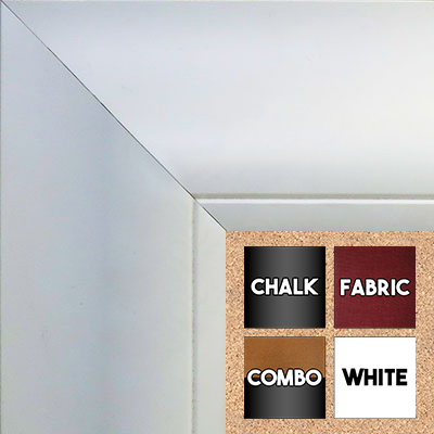BB1522-8 White Extra Extra Large Wall Board Cork Chalk Dry Erase