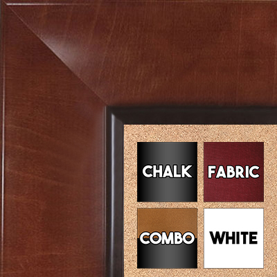 BB1526-2 Pecan - Extra Extra Large  Wall Board Cork Chalk Dry Erase