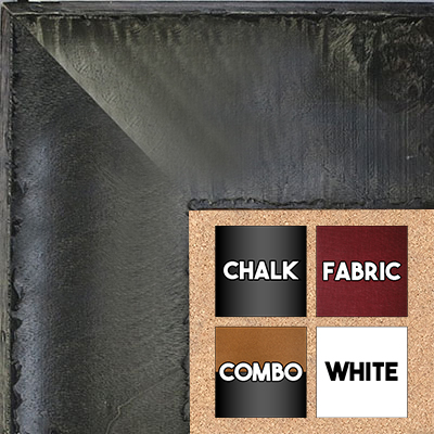 BB1531-1  Distressed Burlwood Gray Custom  Extra Extra Large  Wall Board Cork Chalk Dry Erase