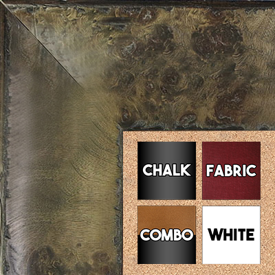 BB1531-5  Distressed Burlwood Brown Taupe Custom  Extra Extra Large  Wall Board Cork Chalk Dry Erase