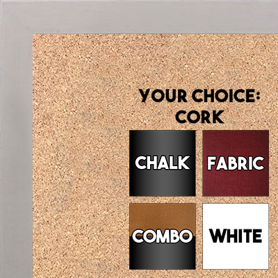 BB1544-10 Whitewash - 3/4 Inch Wide X 1 1/4 Inch High - Small Custom Cork Chalk Dry Erase
