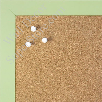 BB1564-10 Soft Green Small Custom Cork Chalk or Dry Erase Board