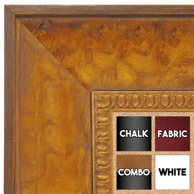 BB1606-3 Honey Pecan Wallboard Corkboard Whiteboard Chalkboard