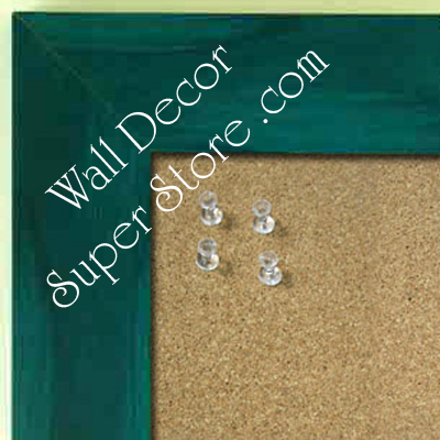 BB231-2 Blue With Soft Dark Highlights Medium To Extra Large Custom Cork Chalk Or Dry Erase Board