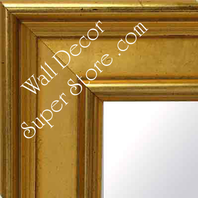 MR124-1 Discontinued Distressed Gold - Extra Large - Custom Framed - Wall Mirror, Leaning Floor Mirror, Bathroom Mirror