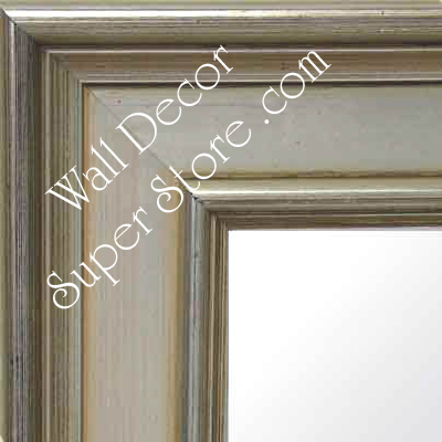 MR124-2 Discontinued Distressed Silver - Extra Large - Custom - Wall Mirror, Leaning Floor Mirror, Bathroom Mirror