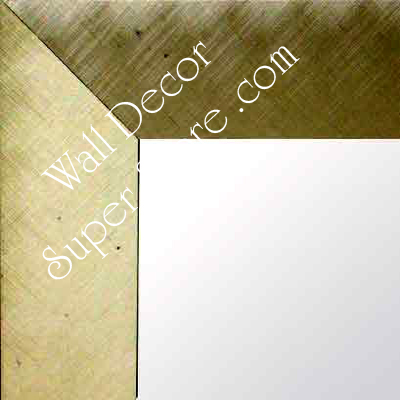 MR134-5 Old World Pewter Brushed Aluminum - Large Custom Wall Mirror