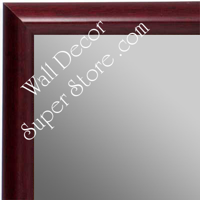 MR1409-4 Mahogany - Small Custom Wall Mirror