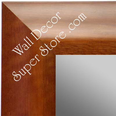 MR1420-1 Cherry Custom Mirror - Large Custom Wall Mirror Custom Floor Mirror