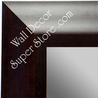 MR1420-2 Coffee Brown - Large Custom Wall Mirror Custom Floor Mirror