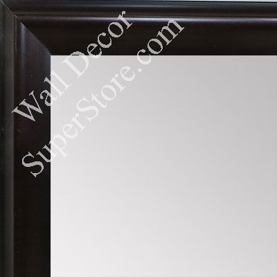 MR1507-1 Espresso Coffee Brown Small Custom Wall Mirror Custom Floor Mirror