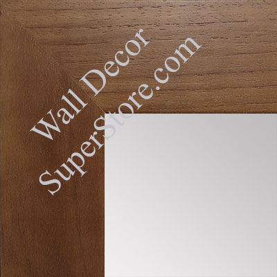 MR1510-2 Walnut Wood Grain Large Custom Wall Mirror Custom Floor Mirror