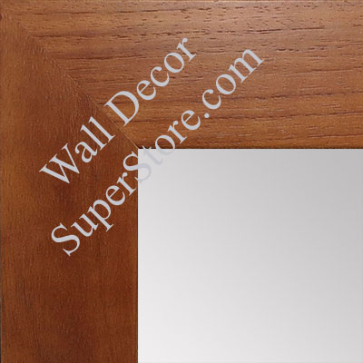 MR1510-3 Cherry Wood Grain Large Custom Wall Mirror Custom Floor Mirror