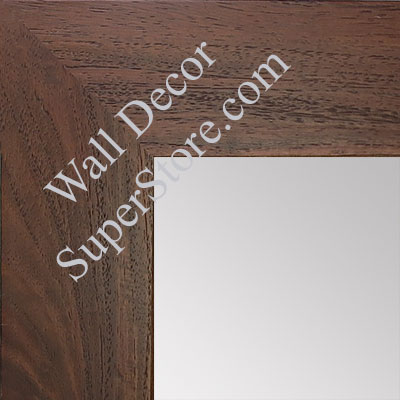 MR1510-5 Dark Walnut Wood Grain Large Custom Wall Mirror Custom Floor Mirror