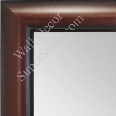MR1516-2 Walnut - Medium Custom Wall Mirror Custom Floor Mirror