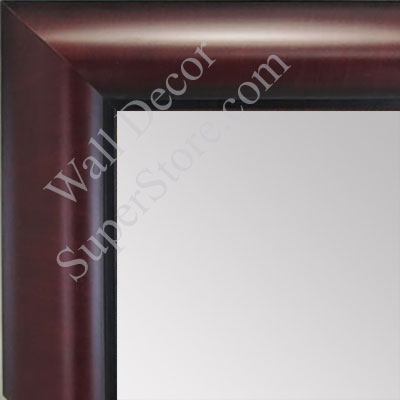 MR1516-3 Mahogany - Medium Custom Wall Mirror Custom Floor Mirror
