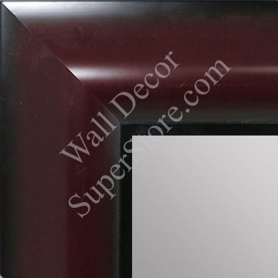 MR1518-3 Mahogany - Extra Large Custom Wall Mirror Custom Floor Mirror