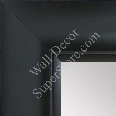 MR1522-9 Classic Black Extra Large Custom Wall Mirror Custom Floor Mirror