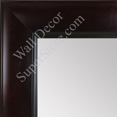 MR1525-1 Espresso Coffee Brown - Large Custom Wall Mirror Custom Floor Mirror
