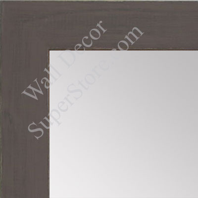 MR1533-3 Distressed Dark Brown - Medium  Custom Wall Mirror -  Custom Bathroom Mirror