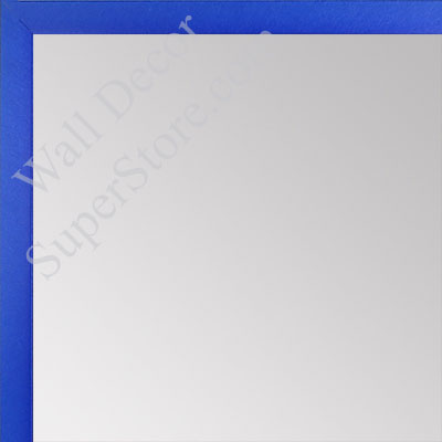 MR1540-9 Thin Metal Sapphire Blue Medium Custom Wall Mirror Custom Floor Mirror