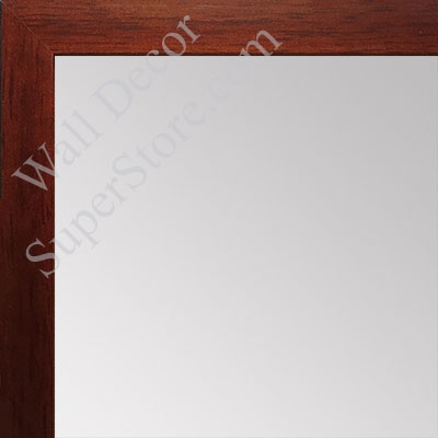 MR1544-3 Cherry - 3/4 Inch Wide  X 1 1/4  Inch High - Custom Wall Mirror -  Custom Bathroom Mirror