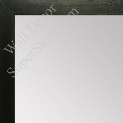 MR1544-6 Charcoal Grey - 3/4 Inch Wide  X 1 1/4  Inch High - Custom Wall Mirror -  Custom Bathroom Mirror