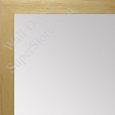 MR1544-4 Natural Clear - 3/4 Inch Wide  X 1 1/4  Inch High - Custom Wall Mirror -  Custom Bathroom Mirror