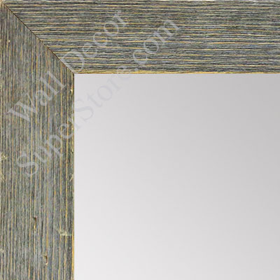 MR1548-1 Distressed Gray Driftwood - Medium  Custom Wall Mirror