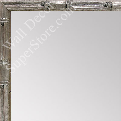 MR1550-3 Soft Champagne - Tropical Bamboo - Very Small Custom Wall Mirror