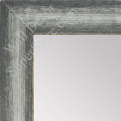 MR1555-1 Distressed Gray / Silver - Medium  Custom Wall Mirror