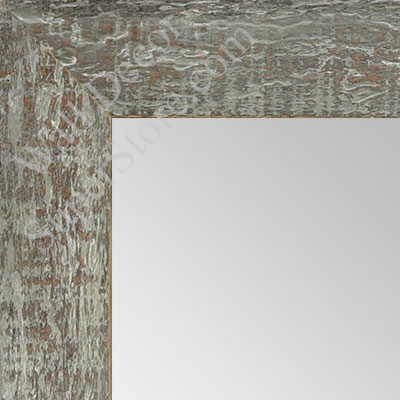 MR1555-3 Distressed Brown Gray - Medium  Custom Wall Mirror
