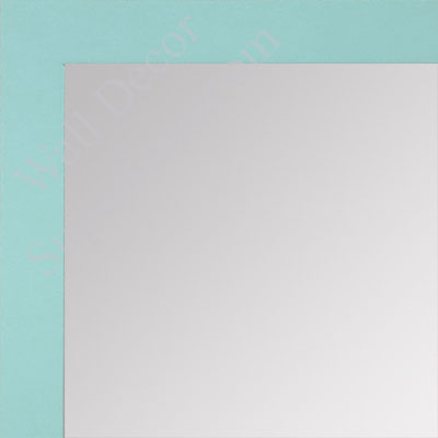 MR1564-16 Soft Blue - Very Small Custom Wall Mirror