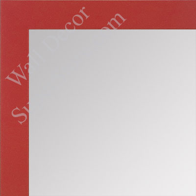 MR1564-5 Red - Very Small Custom Wall Mirror
