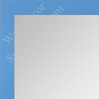 MR1564-6 Blue - Very Small Custom Wall Mirror