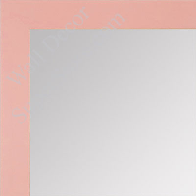 MR1564-9 Soft Pink - Very Small Custom Wall Mirror